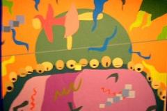 Collage zu Matisse (digitale Arbeit, 29,7 x 21 cm)