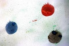 Tomate V (Spritztechnik, 59,4 x 42 cm)