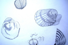 Skizzen (Bleisift auf Papier, 59,4 x 42 cm)