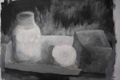 Stillleben (Acryl auf Papier, 59,4 x 42 cm)