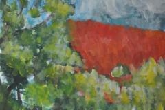 Impressionistsich (Acryl auf Papier, 42 x 59,4 cm)