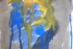 O. T. (Wasserfarben auf Papier, ca. 14,8 x 21 cm)