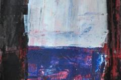 Nach G. Richter (Acryl auf Papier, ca. 42 x 59,4 cm)