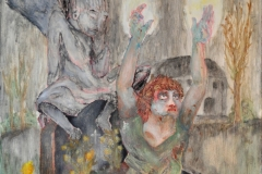 Seelenfänger (Öl auf Leinwand, ca. 40 x 50 cm)