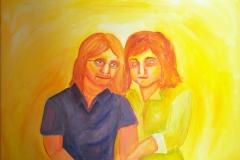 Portrait (Acryl auf Leinwand, ca. 50 x 40 cm)