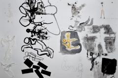 Figuren Skizzen (versch. Techniken, 59,4 x 42 cm)