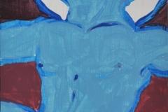 O. T. (Acryl auf Holz, ca. 8 x 15 cm)