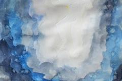 O. T. (Aquarell, Acryl auf Papier, 29,7 x 42 cm)