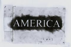 transparency america (Folie, Farbe auf Papier, ca. 29,7 x 21 cm)