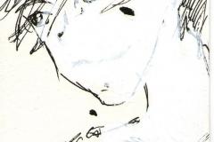 O. T. (Tusche, Acryl auf Papier, ?? x ?? cm)