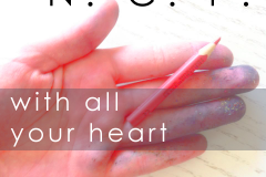 with all your heart - N.C.P. single (Photobearbeitung)