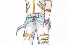 Denji Atsui Artwork farbig