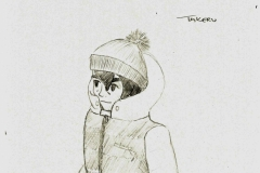 Takeru winter outfit